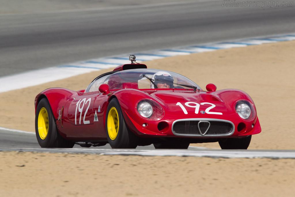Alfa Romeo 33/2 Periscopica - Chassis: 75033.003 - Driver: Joe Nastasi  - 2013 Monterey Motorsports Reunion