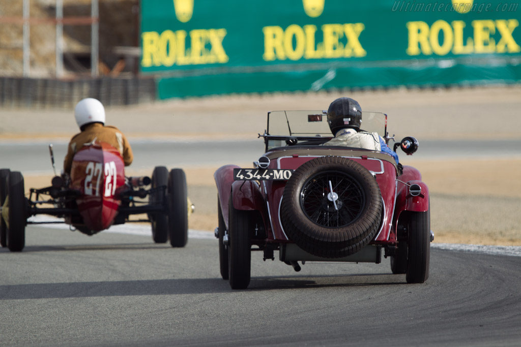 Alfa Romeo 6C 1750 GS - Chassis: 10814344 - Driver: Rick Rawlins  - 2013 Monterey Motorsports Reunion