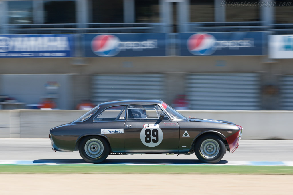 Alfa Romeo Giulia GTA  - Driver: Maxim Banks  - 2013 Monterey Motorsports Reunion