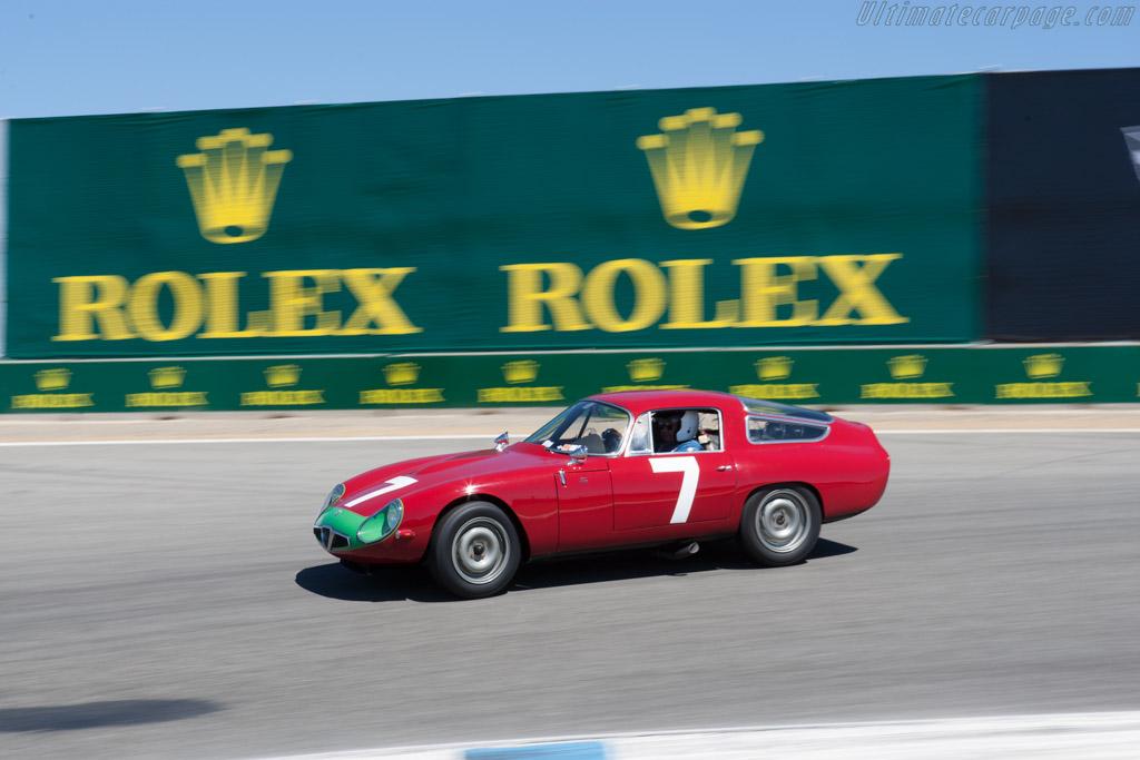 Alfa Romeo TZ - Chassis: AR750060 - Driver: Marnix Dillenius  - 2013 Monterey Motorsports Reunion