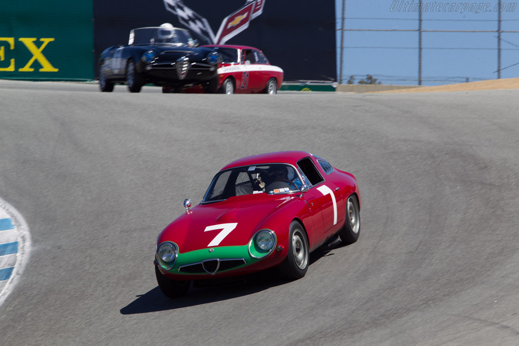 Alfa Romeo TZ - Chassis: AR750060 - Driver: Marnix Dillenius  - 2013 Monterey Motorsports Reunion