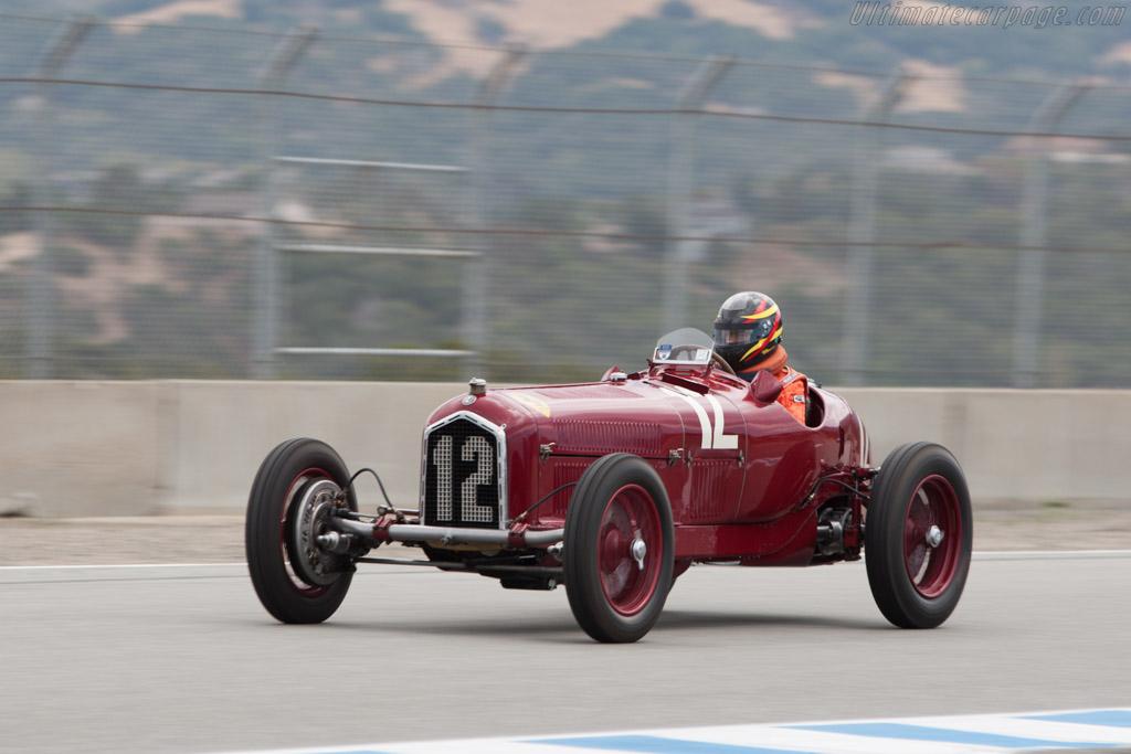 Alfa Romeo Tipo B - Chassis: 50005 - Driver: Jon Shirley  - 2013 Monterey Motorsports Reunion