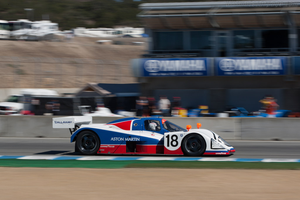 Aston Martin AMR1 - Chassis: AMR1 / 04 - Entrant: James Freeman - Driver: Brian Redman  - 2013 Monterey Motorsports Reunion