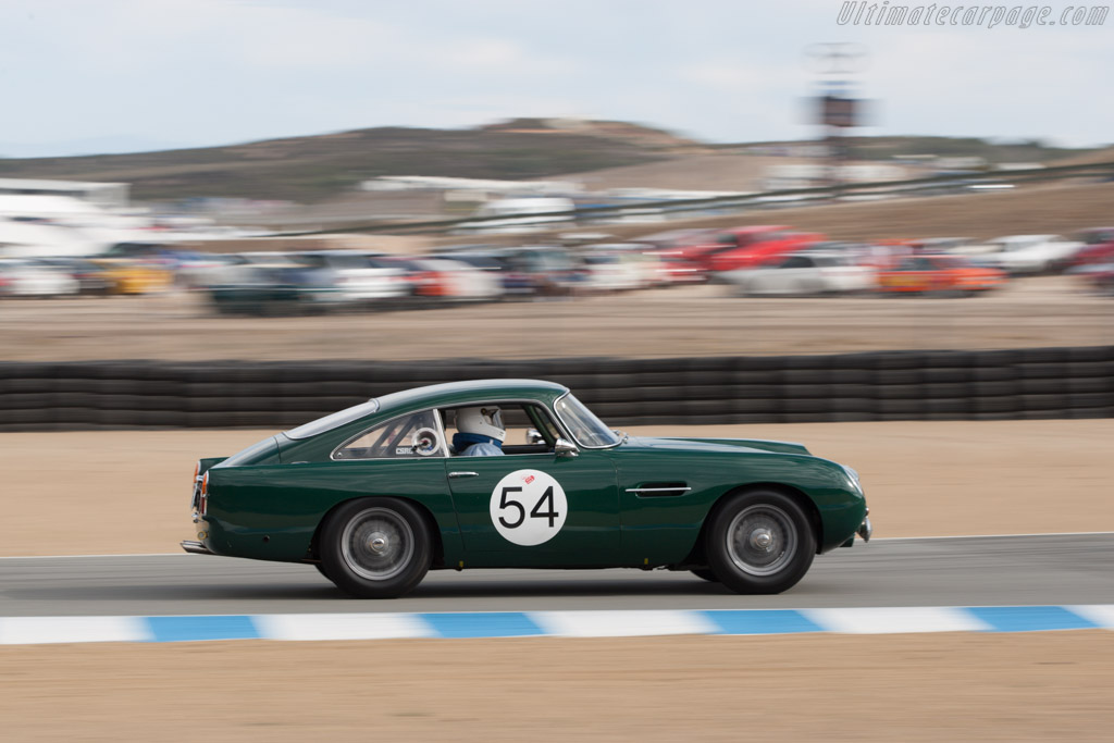 Aston Martin DB4 GT - Chassis: DB4GT/0150/R - Driver: Len Auerbach  - 2013 Monterey Motorsports Reunion