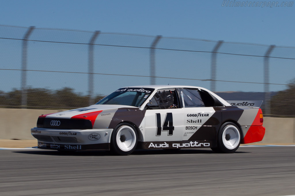 Audi 200 Quattro TransAm - Chassis: TA4 - Driver: Steve Zlotkin  - 2013 Monterey Motorsports Reunion