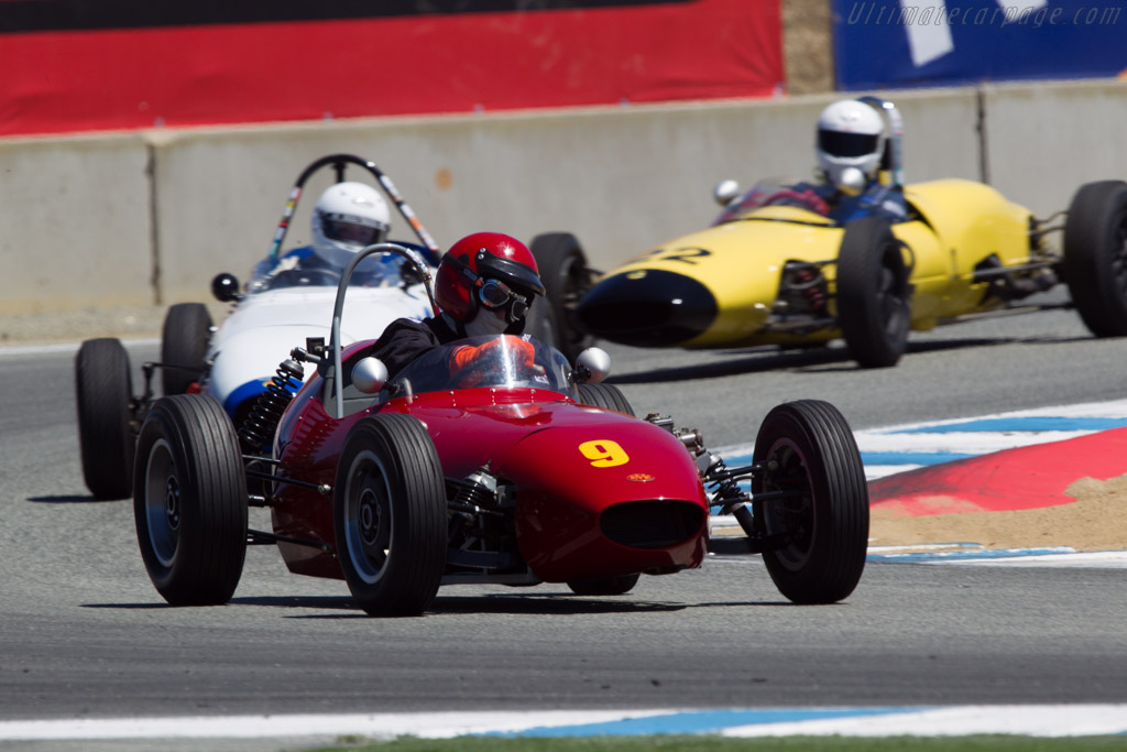 BMC Mk1 Formula Junior - Chassis: 5 - Driver: Carl Stirtz  - 2013 Monterey Motorsports Reunion