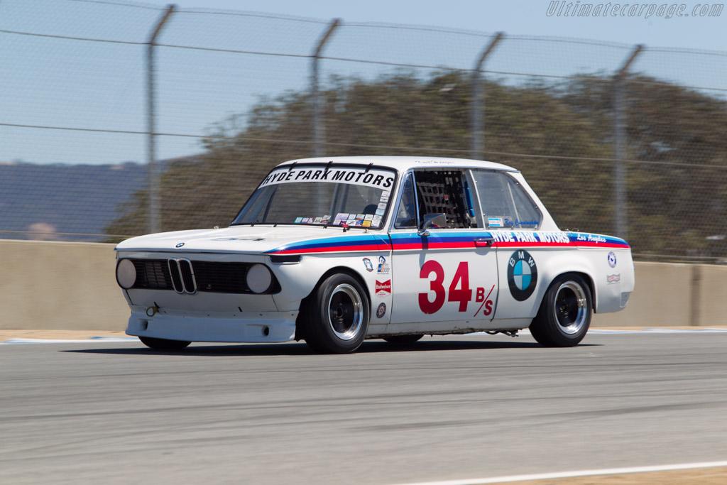 BMW 2002 TA - Chassis: 1668269 - Driver: Jeffrey Gerken  - 2013 Monterey Motorsports Reunion
