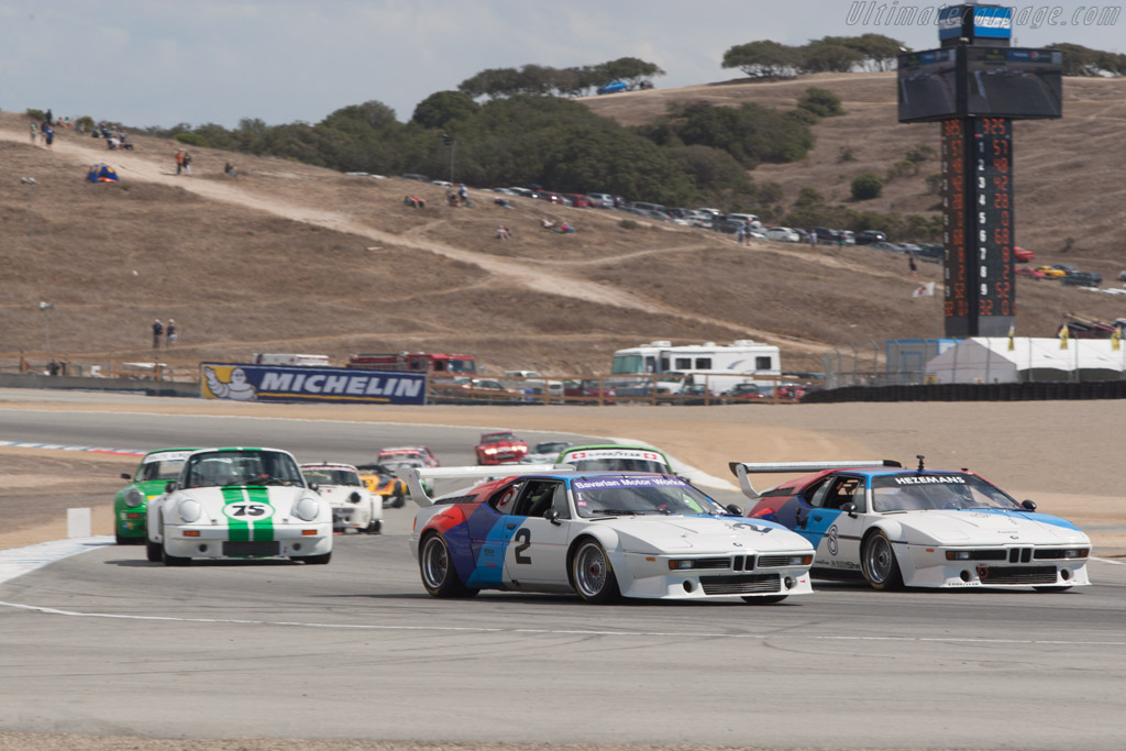 BMW M1 Group 4 - Chassis: 4301223 - Driver: Larry Webster - 2013 Monterey Motorsports Reunion