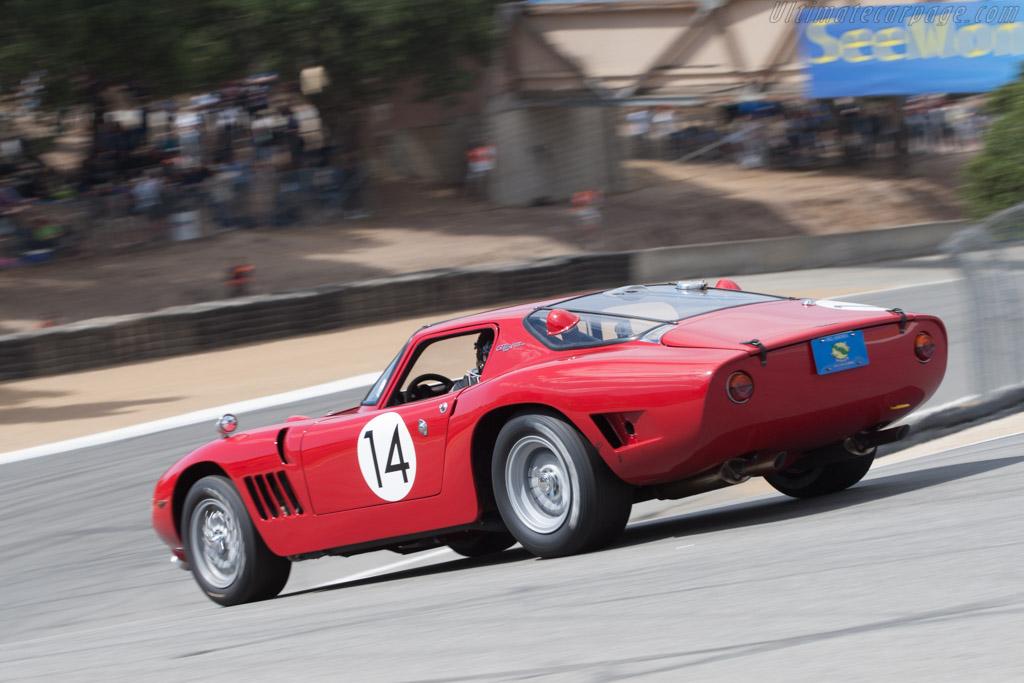 Bizzarrini 5300 GT Strada - Chassis: IA3 0329 - Driver: John Fudge  - 2013 Monterey Motorsports Reunion