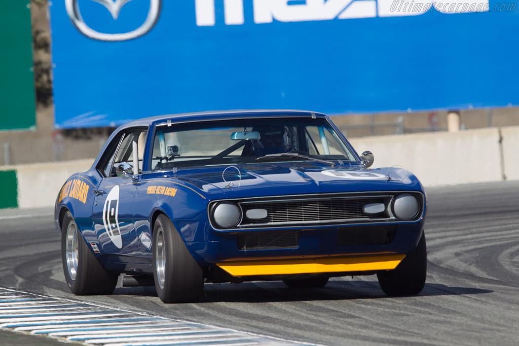 Chevrolet Camaro Z-28  - Driver: Bill Bryan  - 2013 Monterey Motorsports Reunion