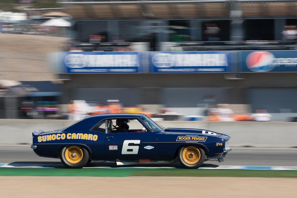 Chevrolet Camaro Z-28  - Driver: Bill Ockerlund  - 2013 Monterey Motorsports Reunion