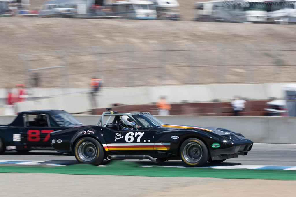 Chevrolet Corvette  - Driver: Jim Cantrell  - 2013 Monterey Motorsports Reunion