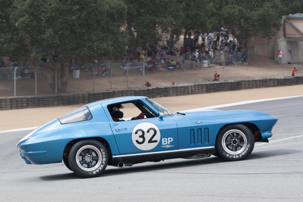 Chevrolet Corvette  - Driver: Phil Scheinberg  - 2013 Monterey Motorsports Reunion