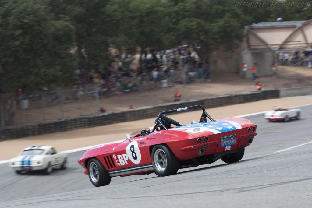 Chevrolet Corvette - Chassis: 5S115534 - Driver: Joseph Hofman  - 2013 Monterey Motorsports Reunion