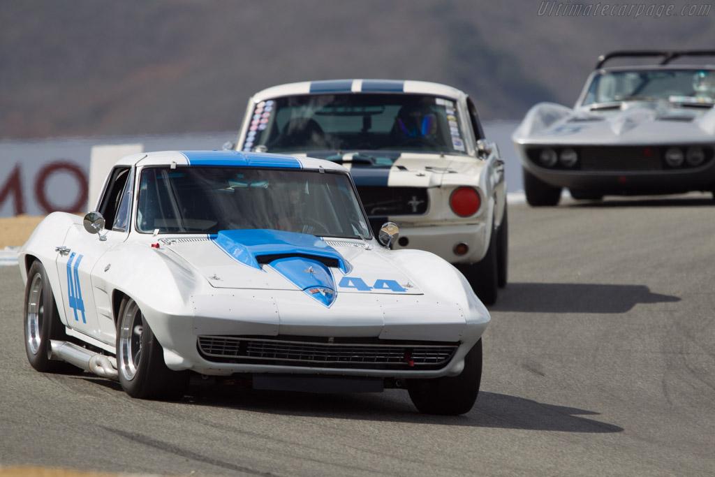 Chevrolet Corvette  - Driver: Steven Cole  - 2013 Monterey Motorsports Reunion