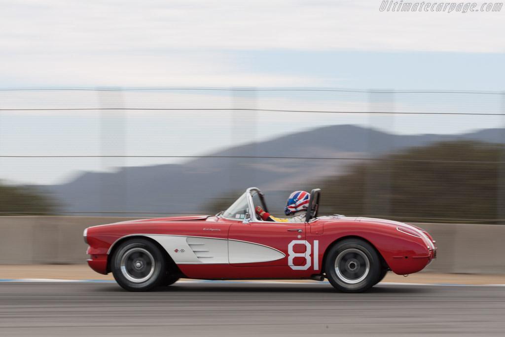 Chevrolet Corvette - Chassis: 00867S104827 - Driver: Gregory Johnson  - 2013 Monterey Motorsports Reunion