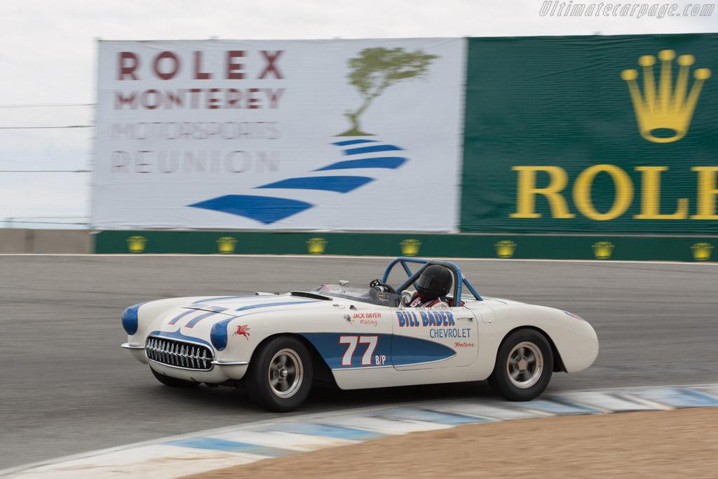 Chevrolet Corvette  - Driver: Jimmy Castle  - 2013 Monterey Motorsports Reunion