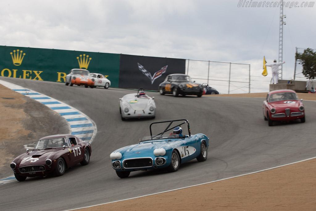 Chevrolet Corvette  - Driver: Art Redford  - 2013 Monterey Motorsports Reunion