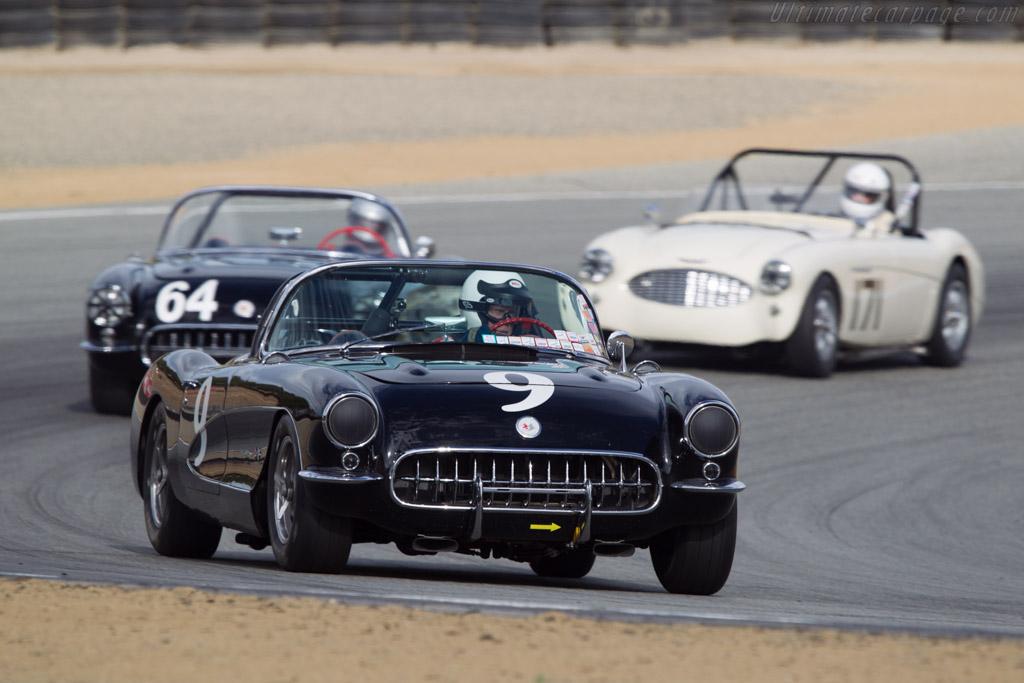 Chevrolet Corvette - Chassis: E57S105346 - Driver: Bob Patterson  - 2013 Monterey Motorsports Reunion