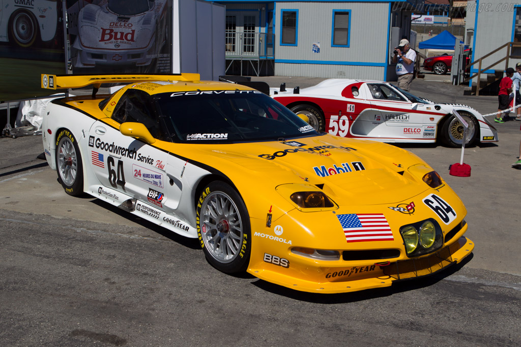 Chevrolet Corvette C5-R - Chassis: 002 - Entrant: Chad Raynal  - 2013 Monterey Motorsports Reunion