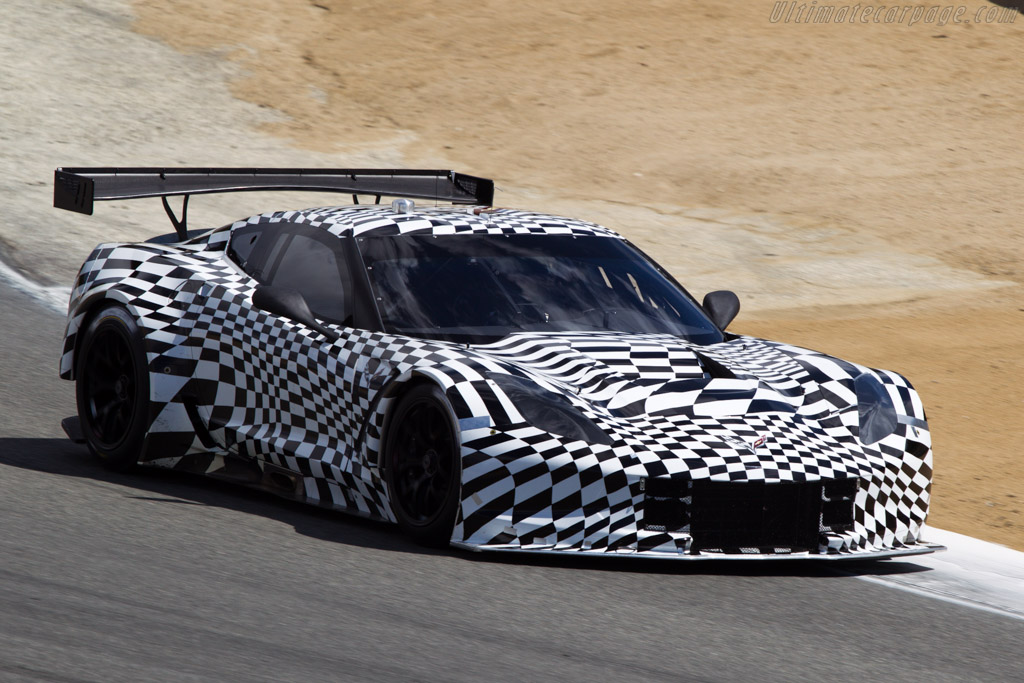 Chevrolet Corvette C7.R  - Driver: Tommy Milner  - 2013 Monterey Motorsports Reunion