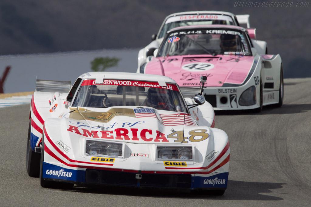 Chevrolet Greenwood Corvette - Chassis: CC012 - Driver: Didier Andre  - 2013 Monterey Motorsports Reunion