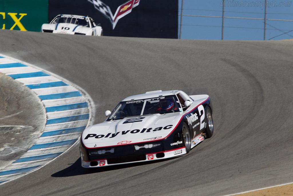 Chevrolet Protofab Corvette - Chassis: 2 - Driver: John Goodman  - 2013 Monterey Motorsports Reunion