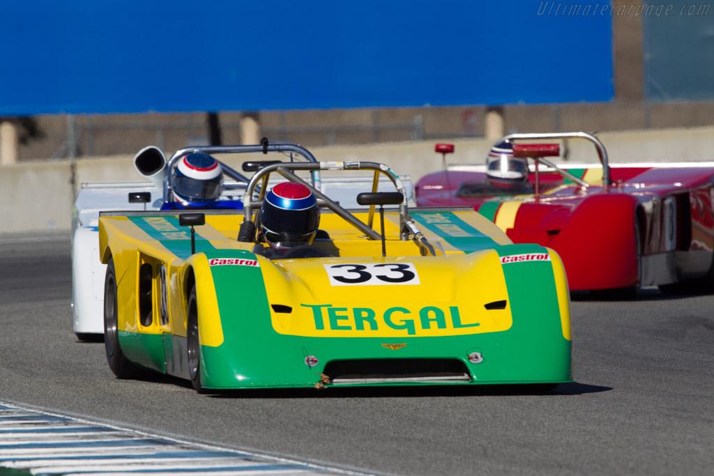 Chevron B19  - Driver: Billy Jacobs  - 2013 Monterey Motorsports Reunion