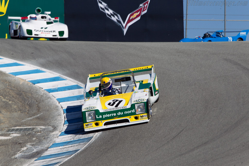 Chevron B36 - Chassis: 36-78-02 - Driver: Charles Nearburg  - 2013 Monterey Motorsports Reunion