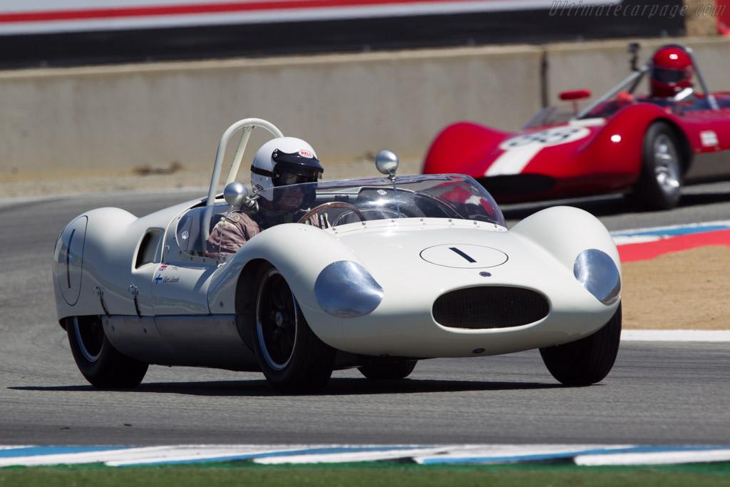 Cooper Monaco - Chassis: CM/1/59 - Driver: Tony Hart  - 2013 Monterey Motorsports Reunion