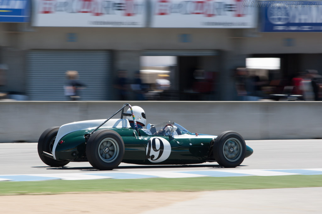Cooper T56  - Driver: James Yule  - 2013 Monterey Motorsports Reunion