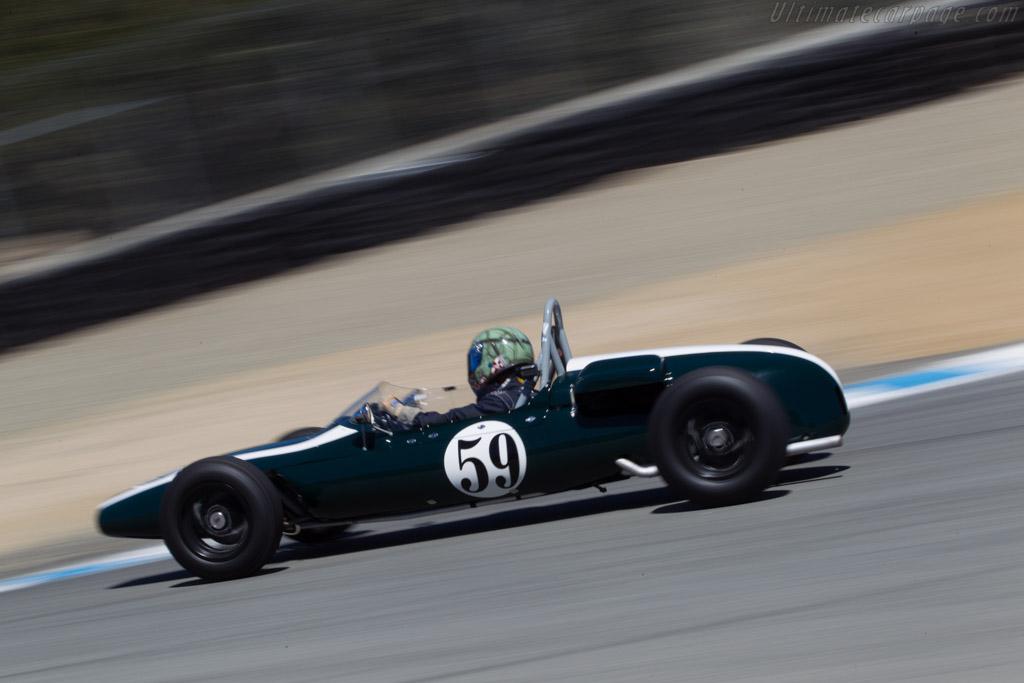 Cooper T59 - Chassis: FJ/35/62 - Driver: Jimmy Domingos  - 2013 Monterey Motorsports Reunion