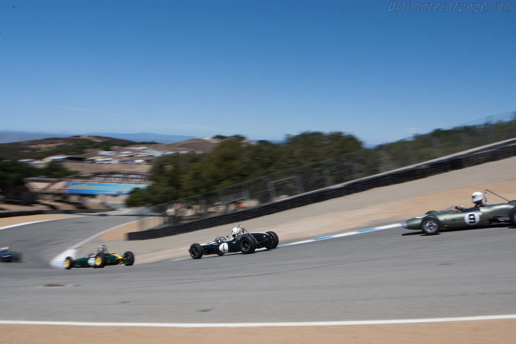 Cooper T59 - Chassis: FJ/18/62 - Driver: Robert Hoemke - 2013 Monterey Motorsports Reunion