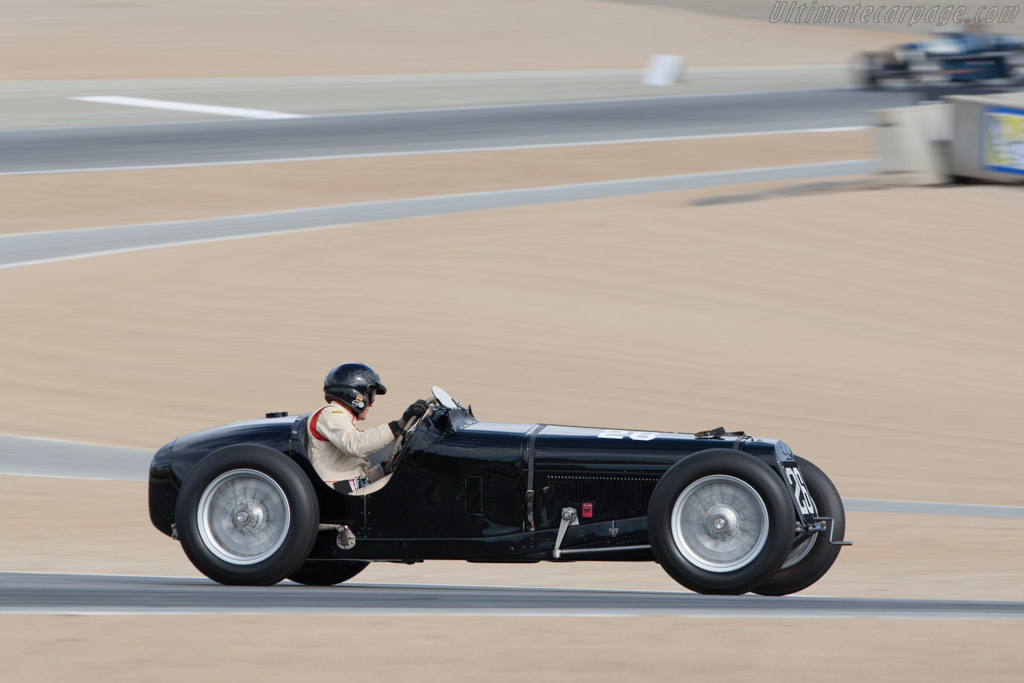 Delage 15 S8 - Chassis: 18488 - Driver: Peter Giddings  - 2013 Monterey Motorsports Reunion