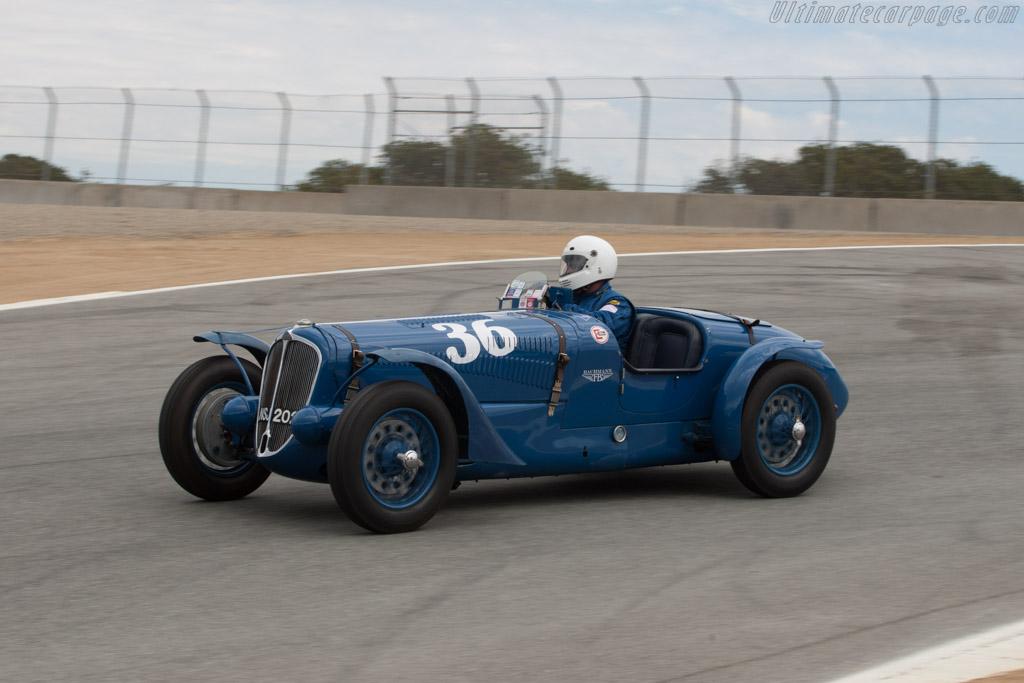 Delahaye 135 S - Chassis: 47190 - Driver: Matthew Cobb  - 2013 Monterey Motorsports Reunion