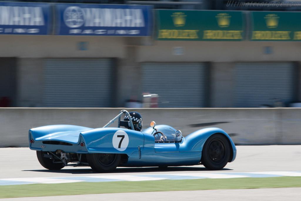 Elva Mk 6 - Chassis: 60-02 - Driver: Tom Thinesen  - 2013 Monterey Motorsports Reunion