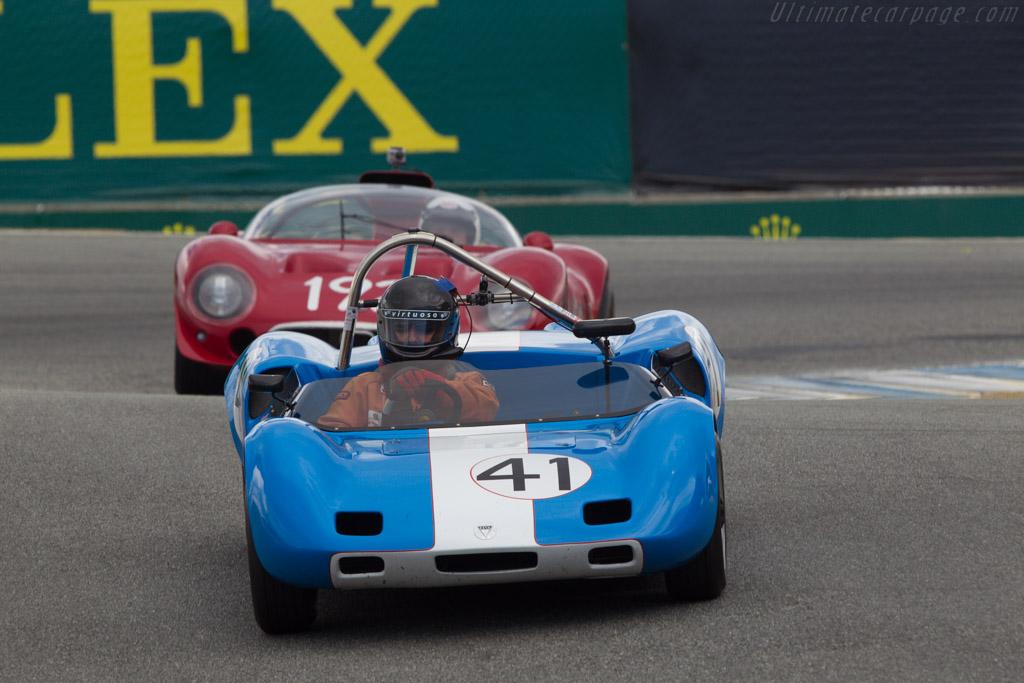 Elva Mk 7S - Chassis: 70/053 - Driver: Stevan Dana  - 2013 Monterey Motorsports Reunion
