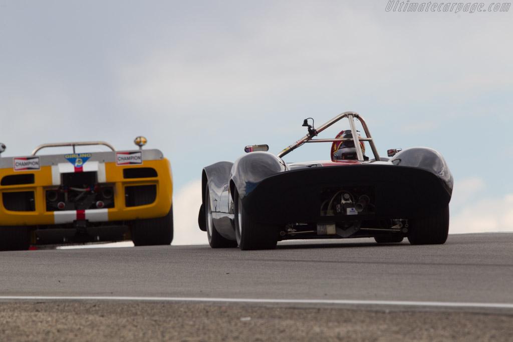 Elva Mk 8 - Chassis: 80/04 - Driver: Harindra de Silva - 2013 Monterey Motorsports Reunion