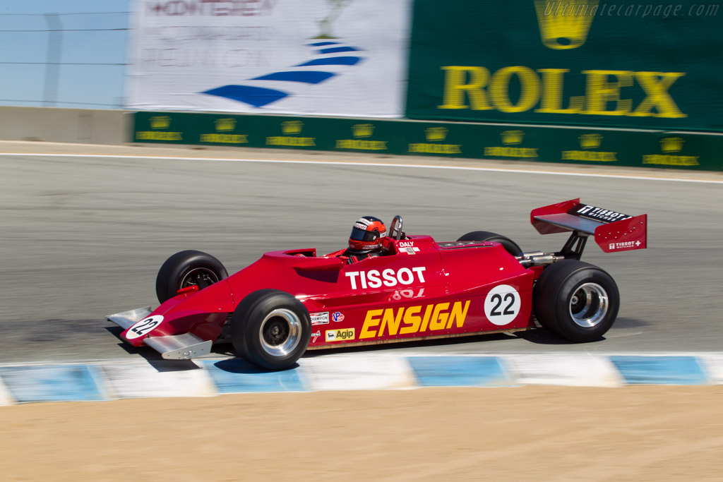 Ensign N179 - Chassis: MN10 - Driver: Bud Moeller  - 2013 Monterey Motorsports Reunion