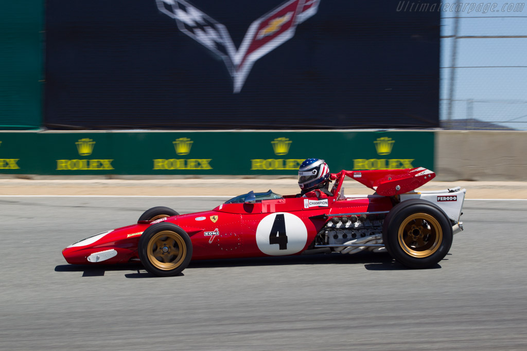 Ferrari 312 B - Chassis: 004 - Driver: Todd Smathers  - 2013 Monterey Motorsports Reunion