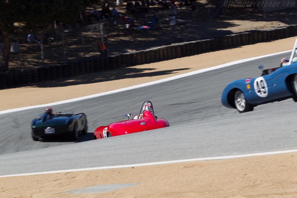 Ferrari 500 Mondial Scaglietti Spyder - Chassis: 0468MD - Driver: Erickson Shirley  - 2013 Monterey Motorsports Reunion