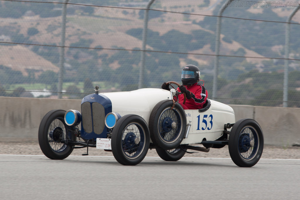 Ford Model T Boat Tail Speedster - Chassis: 12784185 - Driver: James Nix  - 2013 Monterey Motorsports Reunion