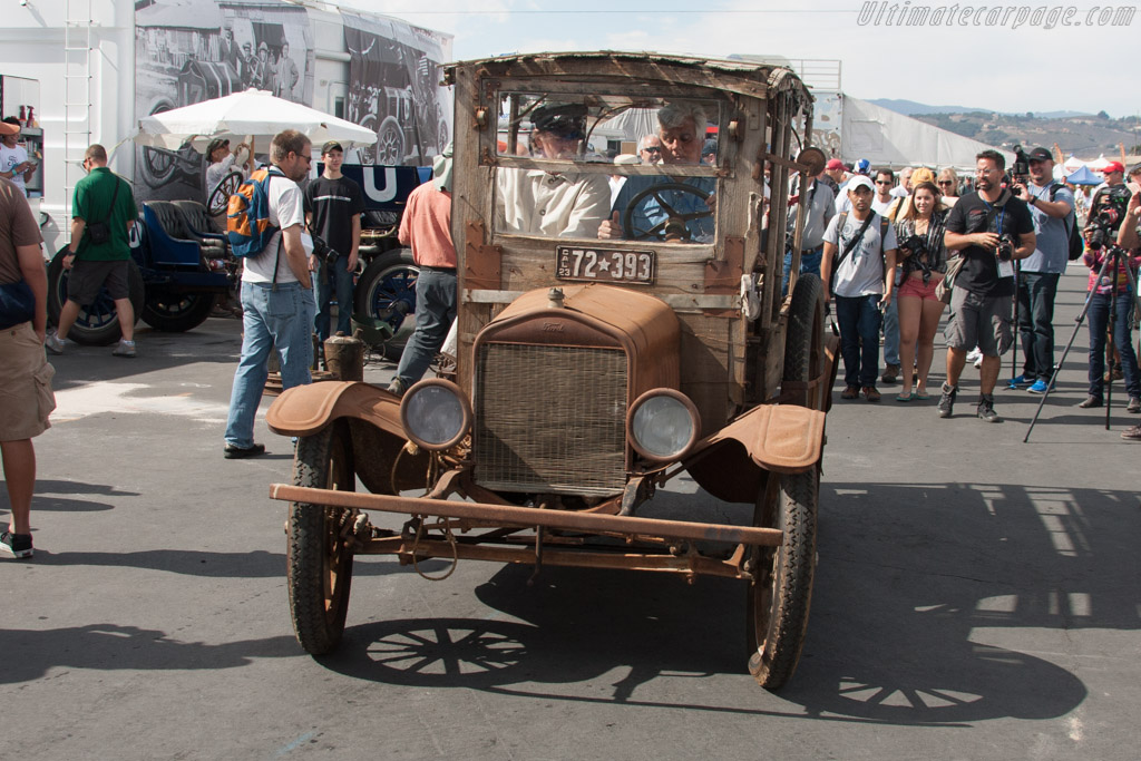 Ford Model T Depot Hack  - Driver: Jay Leno  - 2013 Monterey Motorsports Reunion