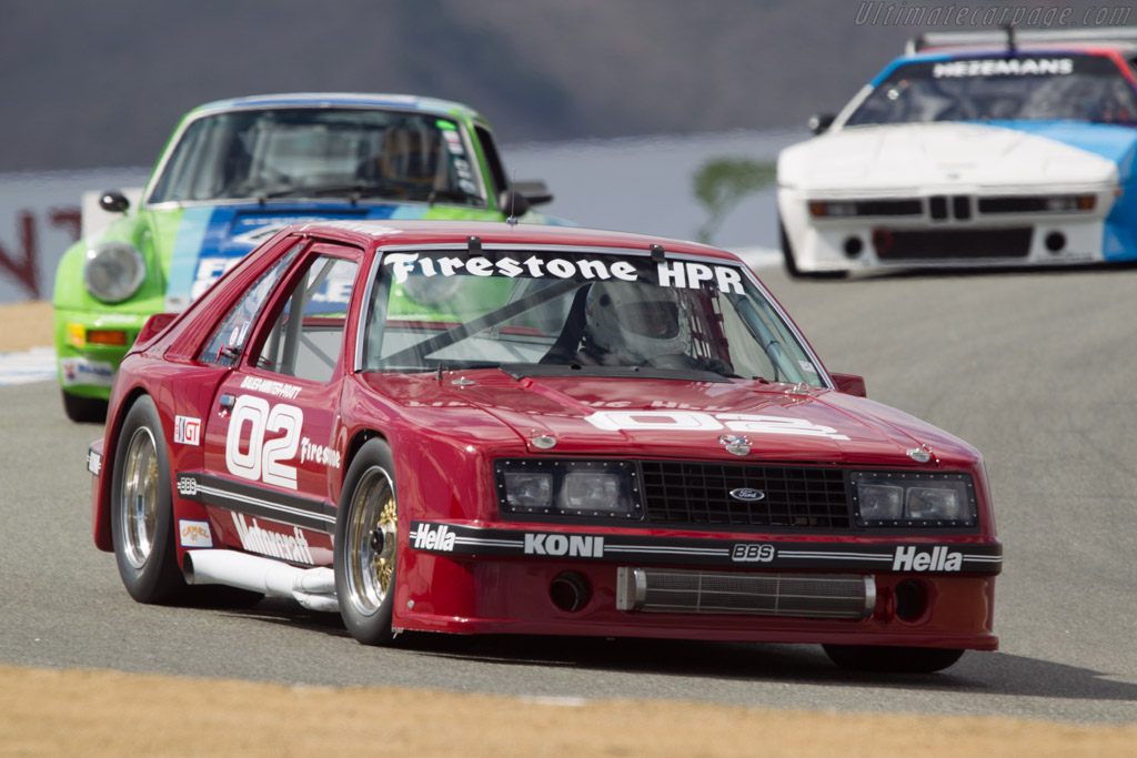 Ford Mustang - Chassis: 2 - Driver: Chris Liebenberg  - 2013 Monterey Motorsports Reunion