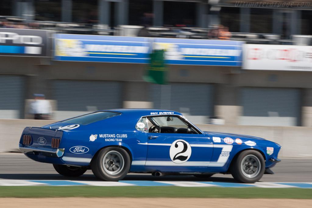Ford Mustang Boss 302  - Driver: Mark Beaulieu  - 2013 Monterey Motorsports Reunion