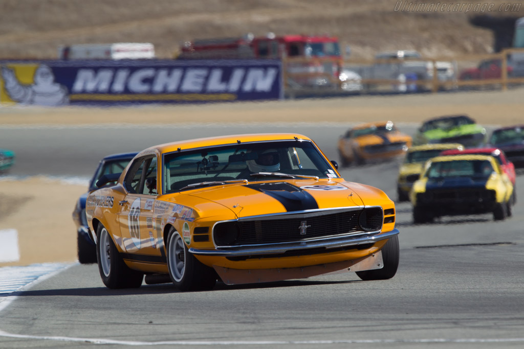 Ford Mustang Boss 302  - Driver: Jim Hague  - 2013 Monterey Motorsports Reunion