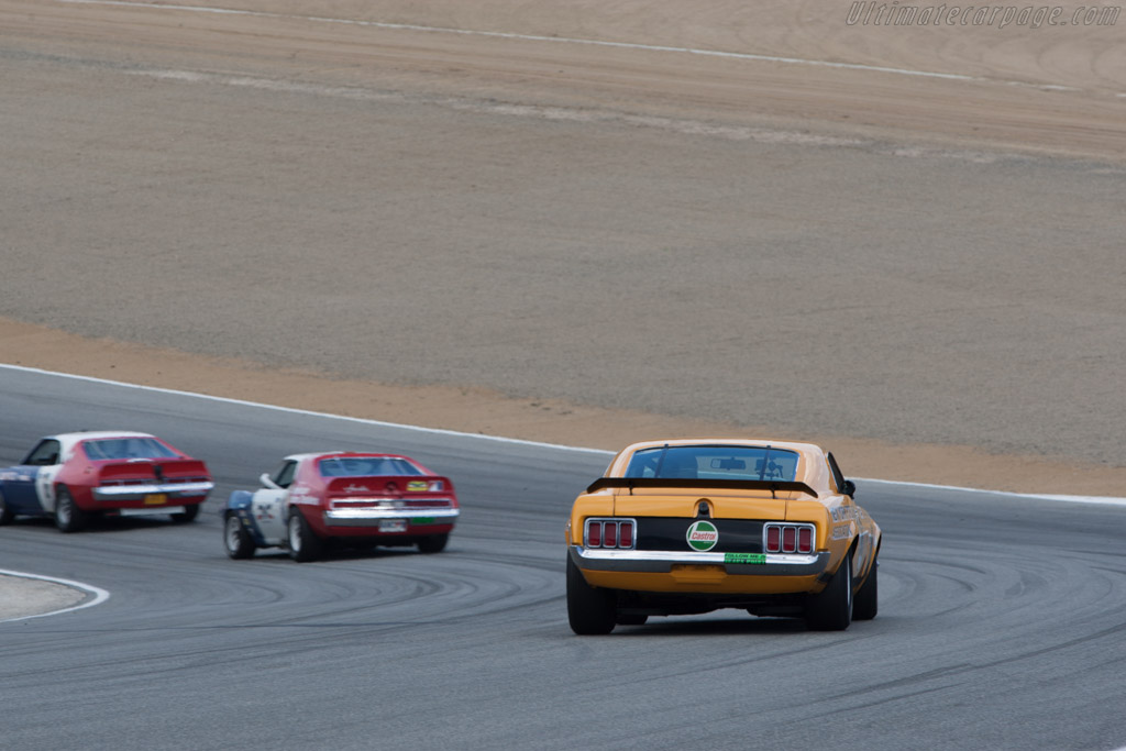 Ford Mustang Boss 302  - Driver: Jim Hague  - 2013 Monterey Motorsports Reunion