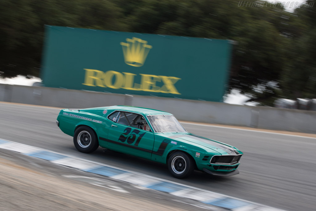 Ford Mustang Boss 302 - Chassis: 72-AS-34 - Driver: Craig Conley  - 2013 Monterey Motorsports Reunion
