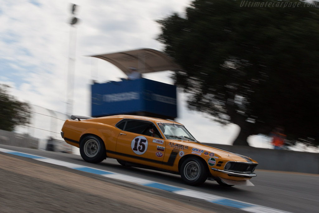 Ford Mustang Boss 302 - Chassis: 72-AS-30 - Driver: Brian Ferrin  - 2013 Monterey Motorsports Reunion