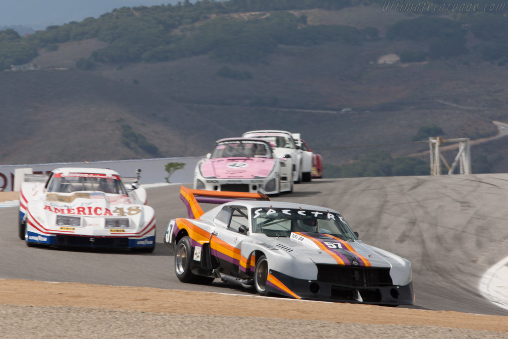 Ford Mustang Boss  - Driver: John Watkins  - 2013 Monterey Motorsports Reunion